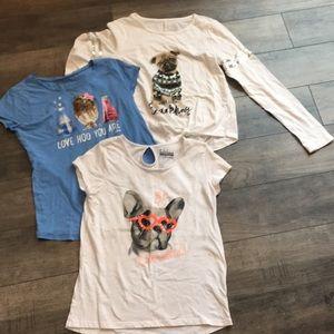 Size 14 girls shirts